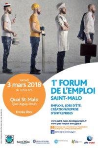 Stand international au forum jobs @Saint-Malo @ Saint-Malo