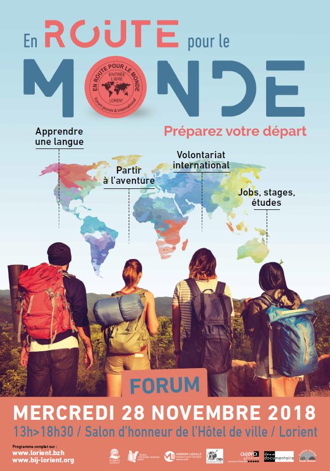 BIJ de Lorient: forum En route pour le Monde@Lorient @ Lorient